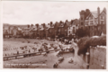 Excel Series postcard - The Beach from Pier, Rhos on Sea - 1930s (front).webp
