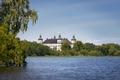 Exteriör. Sommar. Slottet från sjön. Liggande - Skoklosters slott - 88052.tif