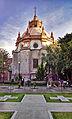 Exterior del Camarin de la Virgen del Templo de San Diego Aguascalientes Mexico.jpg