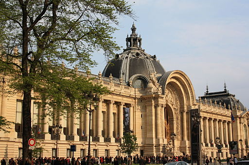 Exterior of the Petit Palais, May 15, 2010