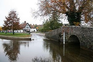 Eynsford - The ford through the Darent