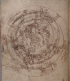 F10.v. Drawing of planisphere NLW MS 735C.png