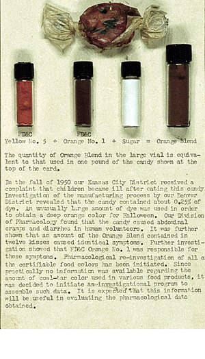 Orange 1 - FDA explanation of Orange Number 1