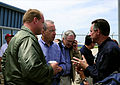 FEMA - 35657 - FEMA Administrator Paulison speaks with Iowa Governor Culver.jpg