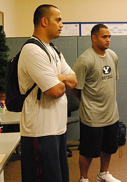 FEMA - 42659 - Former National Football League Players Visit Joint Field Office (cropped).jpg