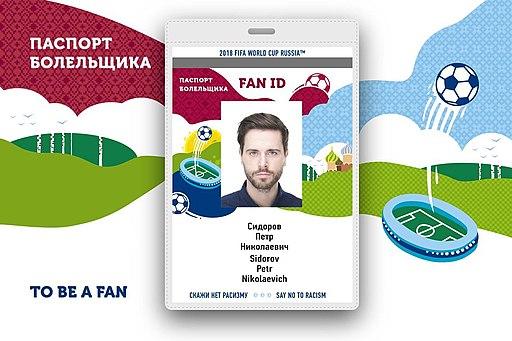 FIFA World Cup 2018 FAN ID