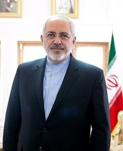 FM Javad Zarif picturing in his office (cropped).jpg