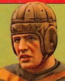 Face detail, Red Grange, 1933 Goudey Gum Company card (cropped).jpg