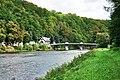 Falkenau - Blick zur Brücke über die Flöha - geograph.org.uk - 8398.jpg