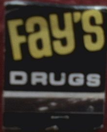 wholesale dealer 55821 fc135 Fay's Drug - Wikipedia