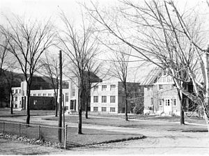 Batshaw Youth and Family Centres - Boys' Farm and Training School, Saint Jacques Street, Montreal.