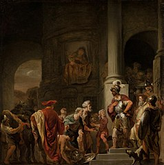 Scene from Ancient History (The Incorruptibility of Gaius Fabricius)