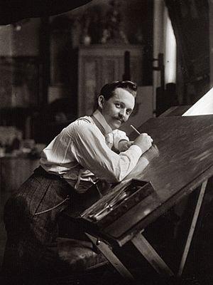 Ferdinand Schmutzer - Self portrait, ca. 1910