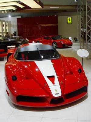 Ferrari FXX - A Ferrari FXX at the Brussels Motor Show