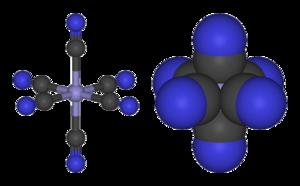 Ferricyanide - Image: Ferricyanide 3D