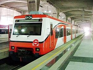 Suburban Railway of the Valley of Mexico Metropolitan Area - Buenavista Station