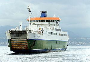 Ferry Vestfold crossing the Strait of Messina - 20 Oct. 2010.jpg