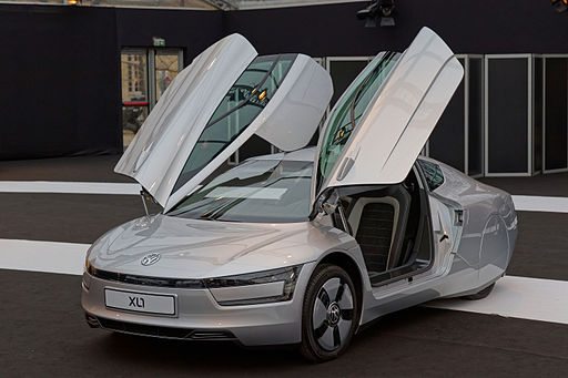 Festival automobile international 2015 - Volkswagen XL1 - 002
