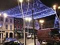 Festive lighting, Omagh - geograph.org.uk - 1629956.jpg
