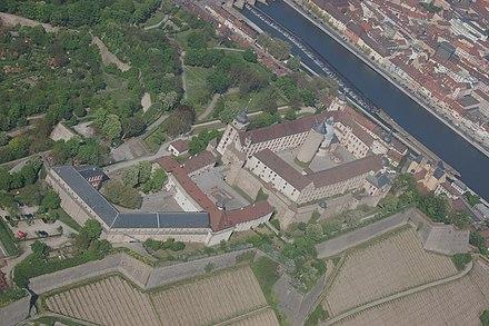 マリエンベルク要塞。ヴュルツブルク
