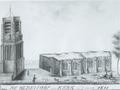 Fictieve schets van toren Oldehove met vervallen kerk.tif