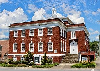 First Baptist Church (Andrews, North Carolina) - Valleytown Cultural Arts Center, 2017