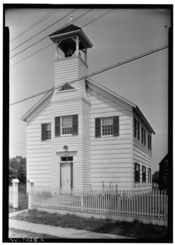 First Congregational Church, Centereach, Suffolk County, NY HABS NY,52-CEN,1-1.tif