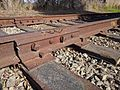 Fishplate with bonding wires on Union Pacific track in Santa Cruz.gk.jpg
