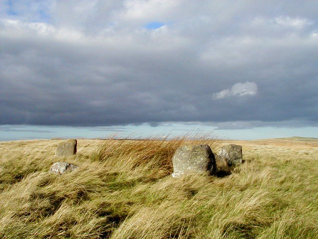 Five Stanes Stone Circle - geograph.org.uk - 51427