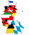 Flag map of West Germany (Subdivisions).png