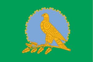 Alsheyevsky District - Image: Flag of Alsheevo rayon (Bashkortostan)