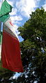 Flag of Iran in the Nishapur Railway Station square 26.JPG
