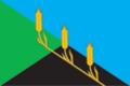 Flag of Kudashevskoe (Tula oblast).png