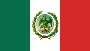 Second Mexican Empire - Image: Flag of Mexico (1881 1917)