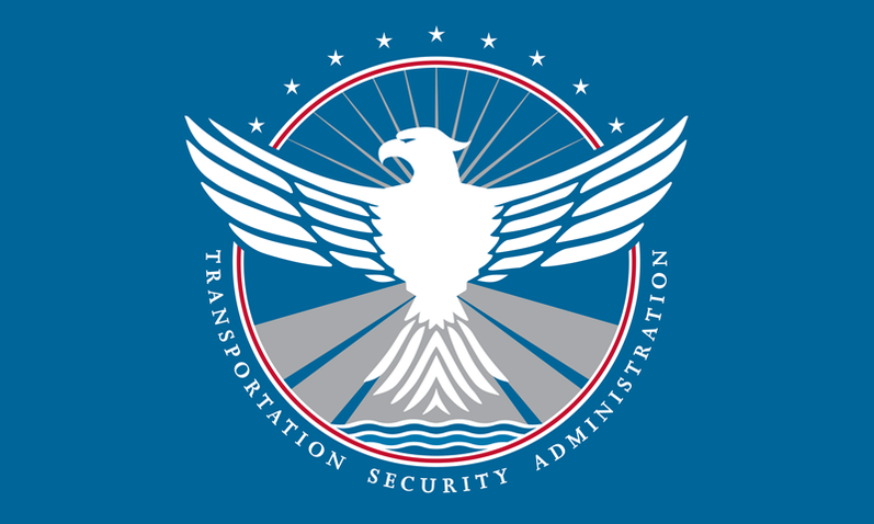Flag of the Transportation Security Administration
