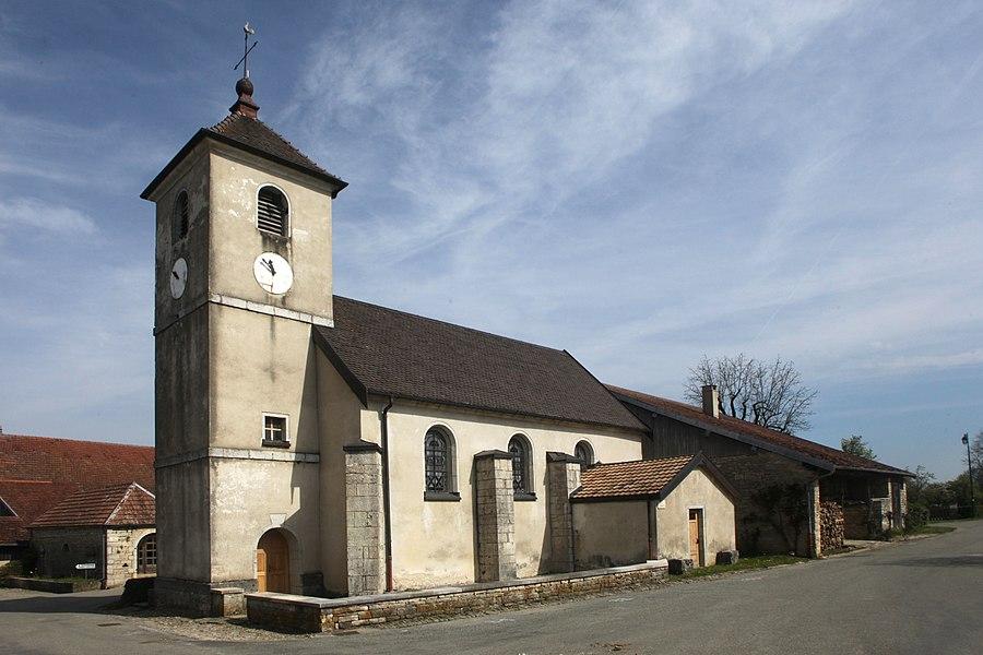 Église de Flagey (Doubs).