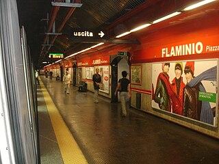 Flaminio – Piazza del Popolo (Rome Metro) Rome Metro station