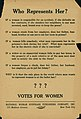 "Flier titled ""Who Represents Her?"" printed by the National Woman Suffrage Publishing Co., New York, ca. 1916.jpg"