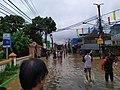 Floods in Raya Bintara Rd. (1 January 2020).jpg