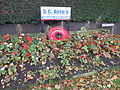 Flowerbed on Coppice Road, Willaston, Cheshire East.JPG
