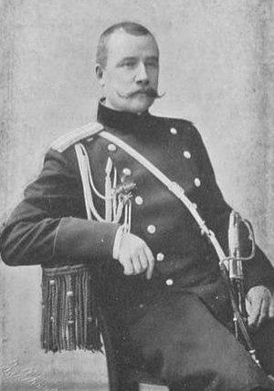 Vasily Flug - Flug as a Colonel in 1900