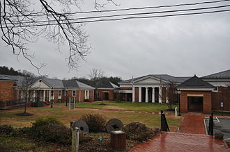 Fluvanna County, Virginia - Fluvanna County administrative offices located at Palmyra .