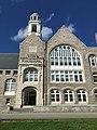 Fogg Memorial Building closeup, Berwick Academy, South Berwick, Maine.jpg