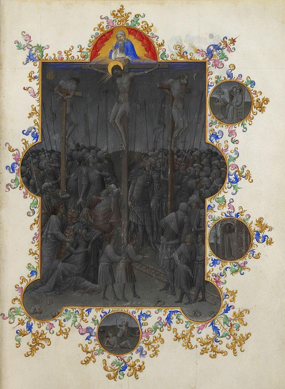 Folio 153r - The Death of Christ