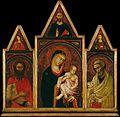 Follower of Duccio - Virgin with Saint John and Saint Peter.jpg