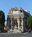 Fontaine Saint-Michel, Paris 25 June 2016.jpg
