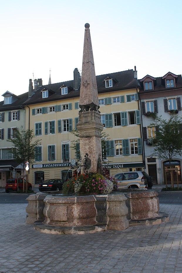 Monument historique à Thonon-les-Bains