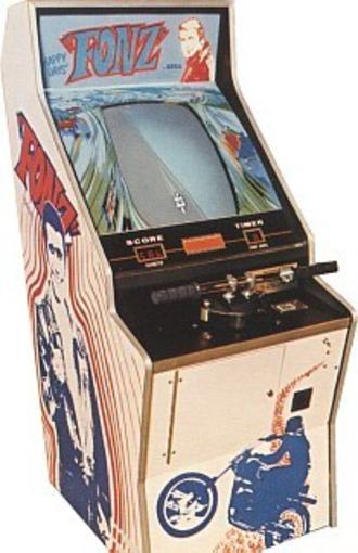 Racing video game - Fonz (1976)