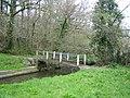 Footbridge at Millin Cross - geograph.org.uk - 161101.jpg