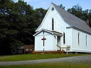 Essex, New York - The Foothills Baptist Church in Boquet
